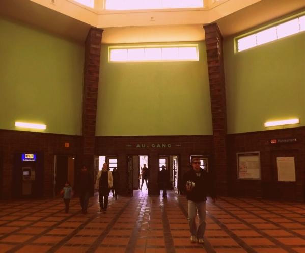 холл станции Wannsee