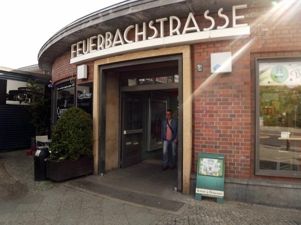 вход в вокзал Feuerbachstrasse