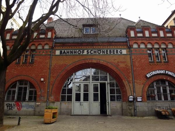 здание вокзала Schöneberg