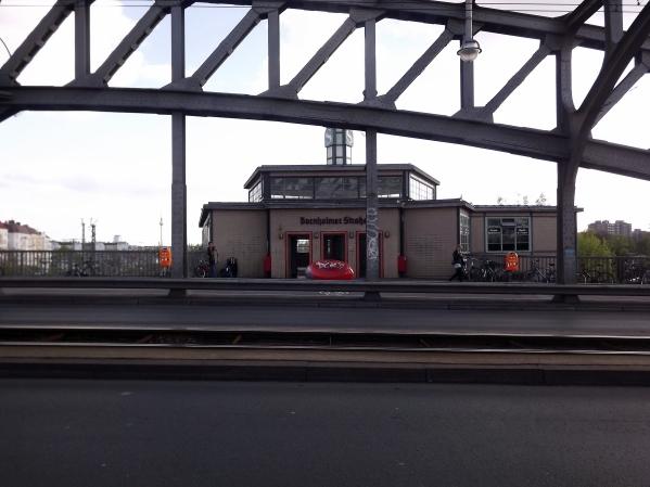 вокзал Bornholmer Strasse