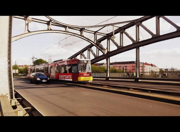 трамвай у Bornholmer Strasse