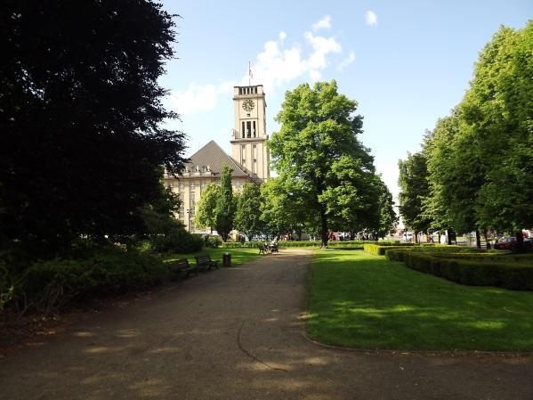 Ратуша Щёнеберга (Rathhaus Schöneberg)