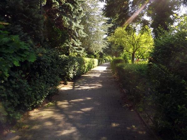 проход между домами